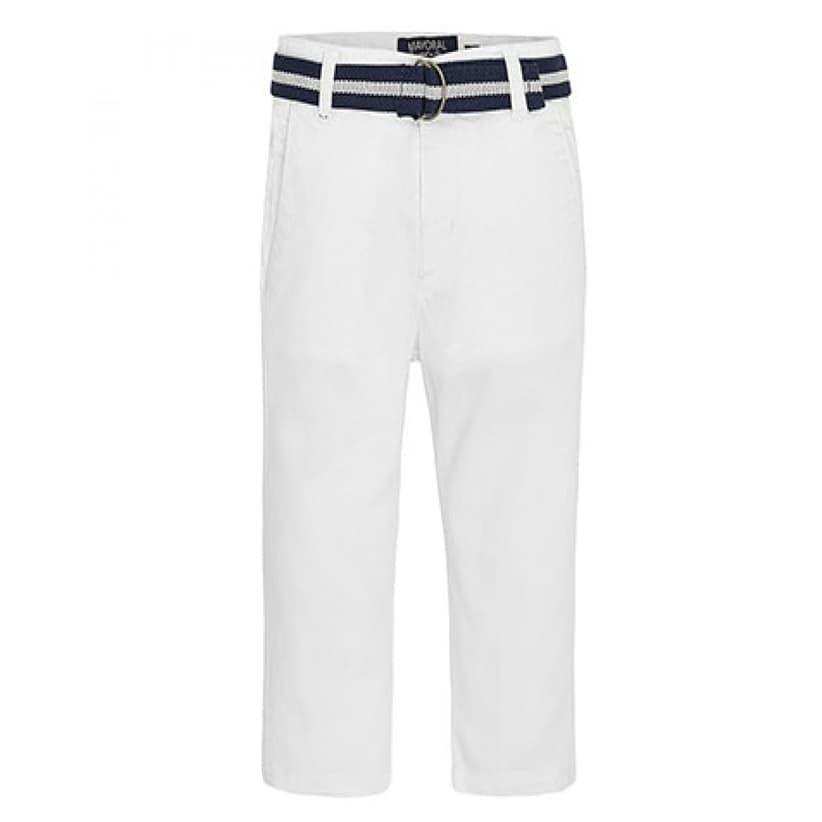 Παντελόνι Λευκό Mayoral - Παντελόνια-Βερμούδες Babyshop.gr 6b1ffb6d1c5