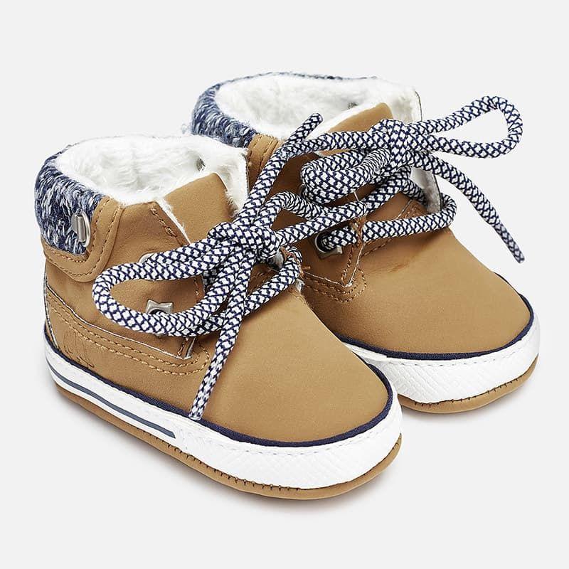 5968c45e014 Μπότες με Κορδόνια Καραμέλα Mayoral - Mayoral στο Babyshop