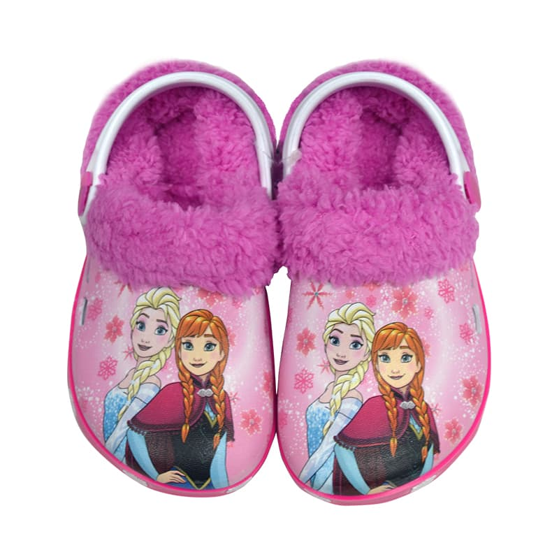 1abdea9a5db Παντοφλάκια Φούξια Disney Frozen - Παντοφλάκια στο Babyshop