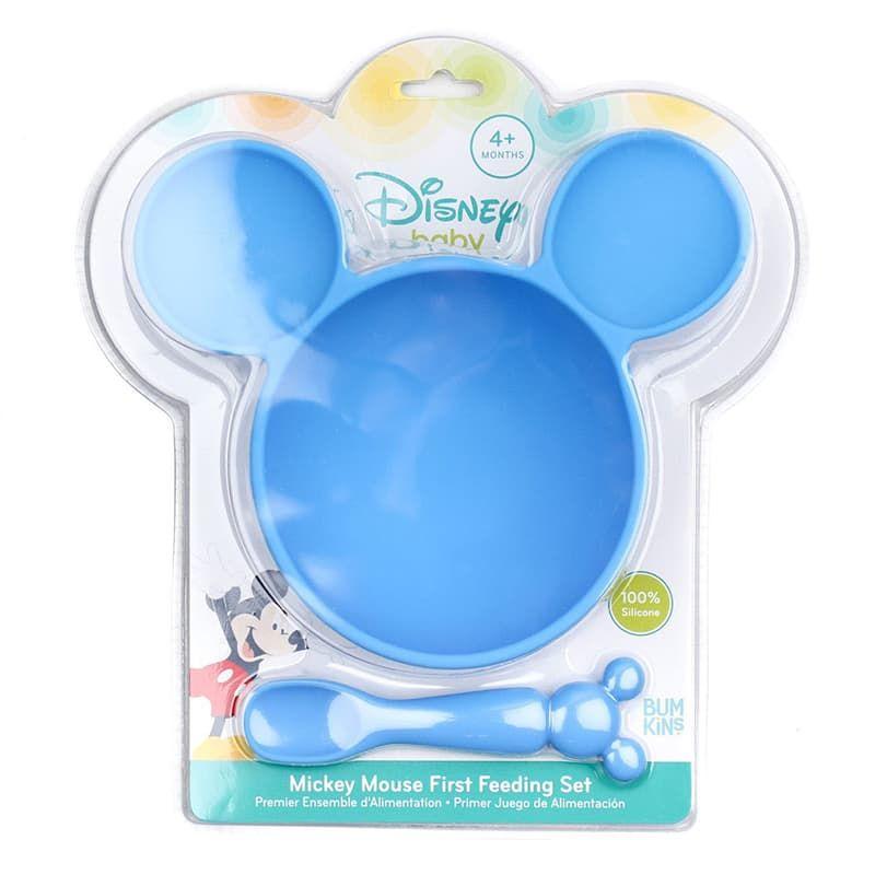 Σετ Πιάτο με Κουταλάκι Mickey Mouse - Πιατάκια - Μπολ - Δίσκοι ... 2df6bb30438