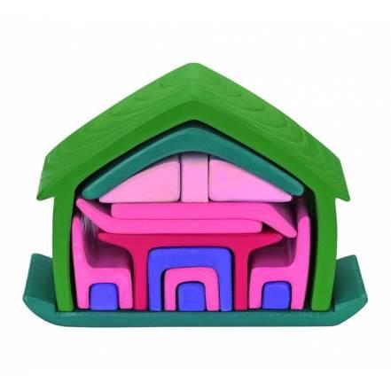 Ξύλινο Παζλ 3D - All In House της Nictoys
