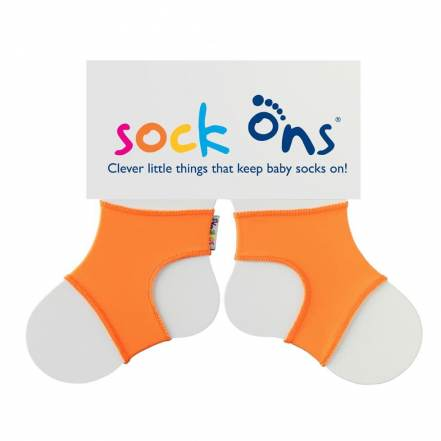 Sock Ons Πορτοκαλί για να μην Βγάζει τις Κάλτσες του