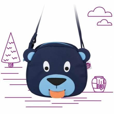 Τσαντούλα Bobo το Αρκουδάκι Mini Friends της Affenzahn