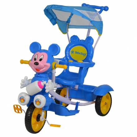 Τρίκυκλο Ποδηλατάκι Mouse Μπλε της Βebe Stars