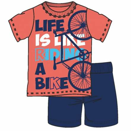 "Πυτζάμες ""Life is Like Riding"" Pretty Baby"