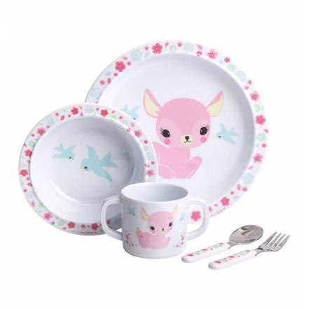 Σετ Φαγητού Ελαφάκι της Little Lovely Company