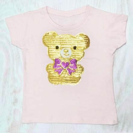 Μπλούζα Αρκουδάκι Ροζ Haute Couture