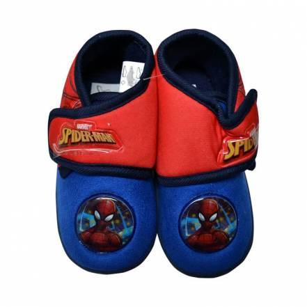 Παντοφλάκια Μπλε - Κόκκινο Spiderman