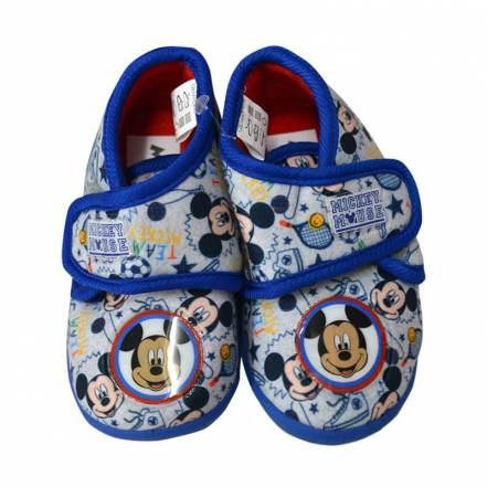 Παντοφλάκια Μπλε - Λευκό Mickey Mouse