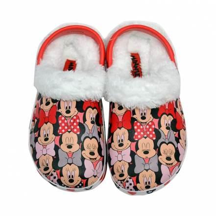 Παντοφλάκια Κόκκινο Disney Minnie