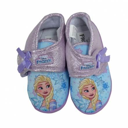 Παντοφλάκια Μωβ Disney Frozen