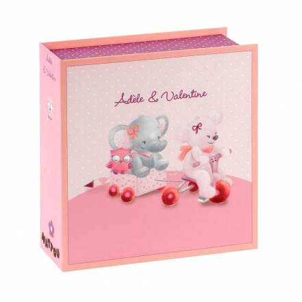 Κουτί των Πρώτων Αναμνήσεων Adele & Valentine της Nattou