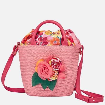Τσάντα Απλικέ Λουλούδι Ροζ Mayoral