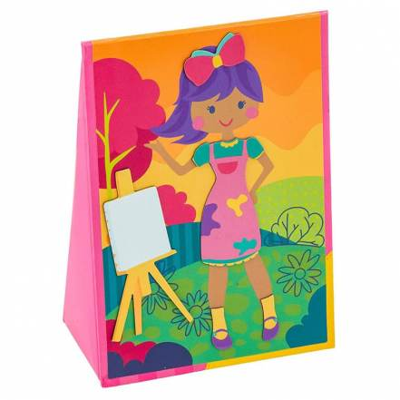 Μαγνητικό Παιχνίδι Dress Up Doll Girl της Stephen Joseph