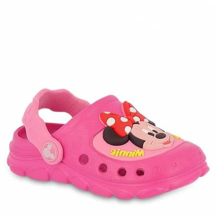 Παντόφλες Disney Minnie σε Φούξια Χρώμα της Parex