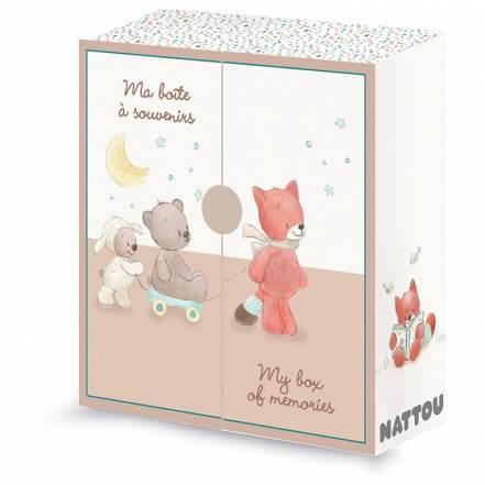 Κουτί των Πρώτων Αναμνήσεων Mia & Basile της Nattou