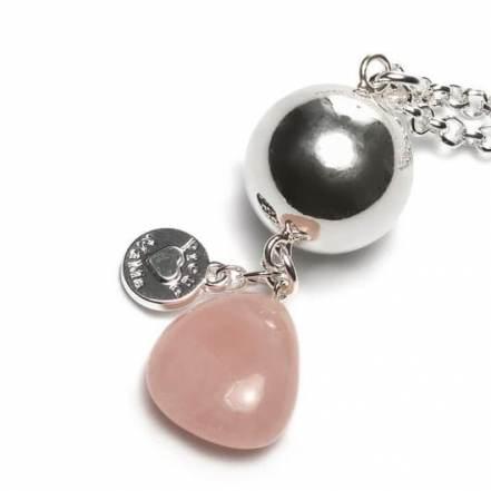 Gemstone Pink Chalcedony ProudMama Babybell