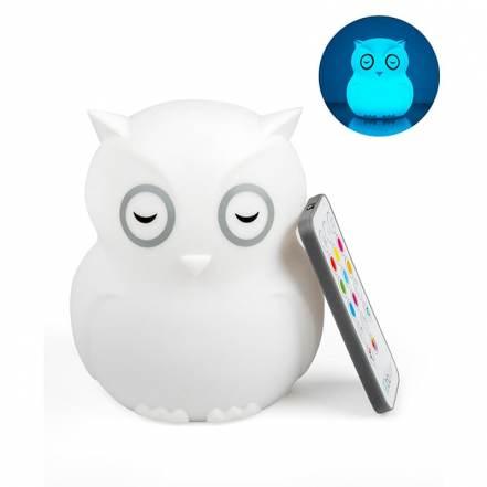 Hibu – Φορητό Φωτάκι Νυκτός από Σιλικόνη (USB φόρτιση) της Bbluv