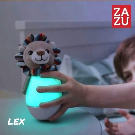 Lex Λιονταράκι Φωτάκι Νύχτας Κουνιστό Πολύχρωμο της Zazu