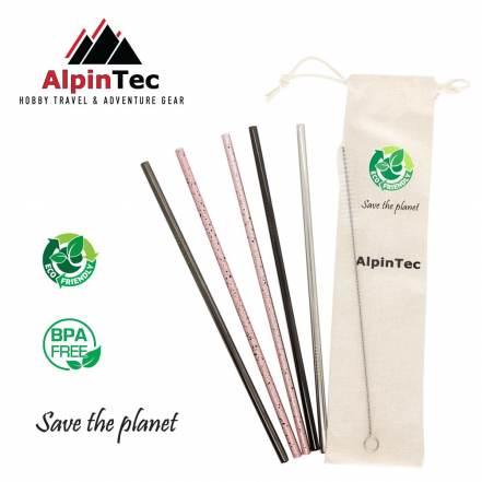 Οικολογικά Καλαμάκια Ίσια 6mm AlpinPro