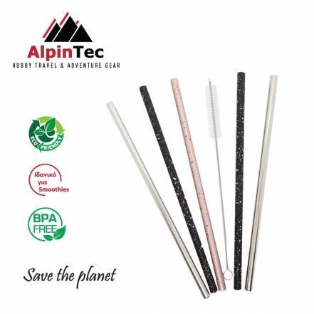 Οικολογικά Καλαμάκια Ίσια 8mm AlpinPro