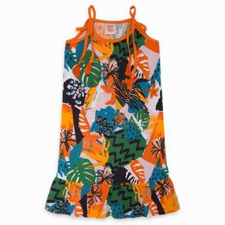 Φόρεμα Πορτοκαλί Party Animal tuctuc