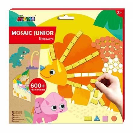 Μωσαϊκό Δεινόσαυροι Mosaic Junior Dinosaurs 3+ της Avenir