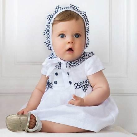 Φόρεμα Καπέλο και Βρακάκι Mayoral