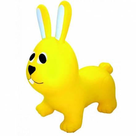 Φουσκωτό Ζωάκι Jumpy Λαγουδάκι Κίτρινο Gerardo's Toys