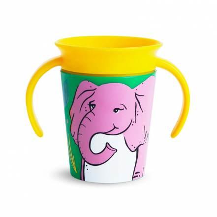 Παιδικό Ποτήρι Miracle Trainer Cup Elephant 177ml Munchkin