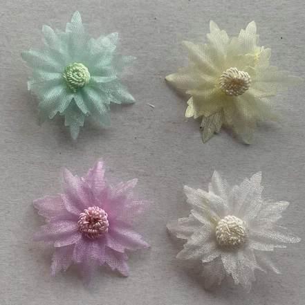 Λουλούδια Οργάντζα