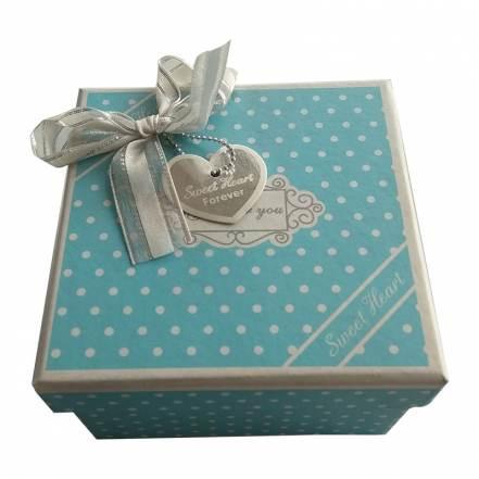 Κουτί Σιέλ Πουά με Φιόγκο
