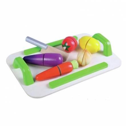 Ξύλινος Δίσκος Λαχανικών Gerardo's Toys