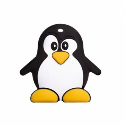 Μασητικό Σιλικόνης Penguin της Akuku