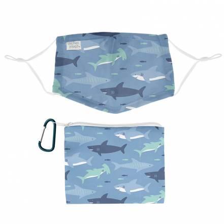 Σετ Μάσκα με Θήκη Καρχαρίας Stephen Joseph