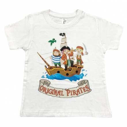 Μπλούζα Κοντομάνικη Πειρατές Sol's