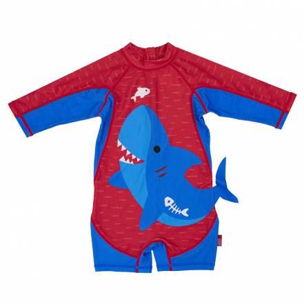 Μαγιό Αντηλιακό Ολόσωμο Καρχαρίας UPF 50+ της Zoocchini