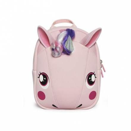 Σακίδιο Μονόκερος Ροζ Supercute Unicorn Pink