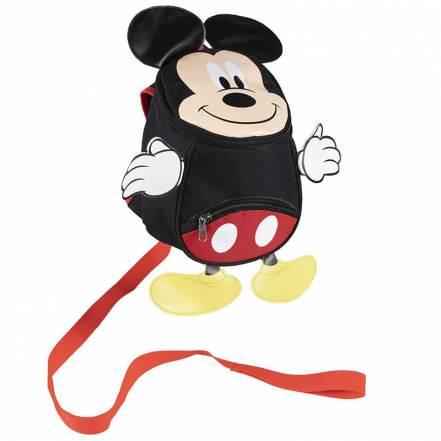 Τσάντα Backpack με Ζώνη Ασφαλείας Disney Mickey Mouse