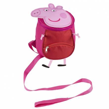 Τσάντα Backpack με Ζώνη Ασφαλείας Disney Peppa Pig