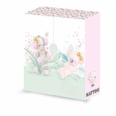 Κουτί των Πρώτων Αναμνήσεων Iris & Lali της Nattou